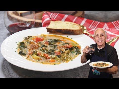 Tuscan Soup Recipe (Zuppa Toscana)
