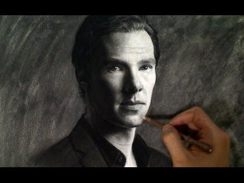 Drawing Benedict Cumberbatch