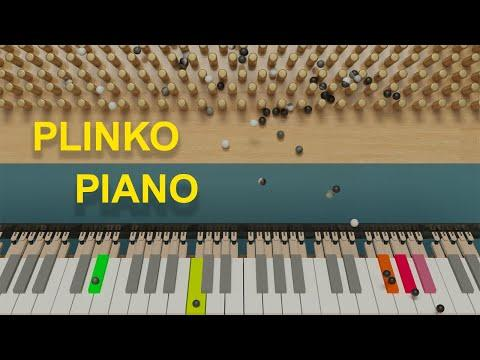Order from Chaos Video - Satisfying Marbles play The Lark on Piano