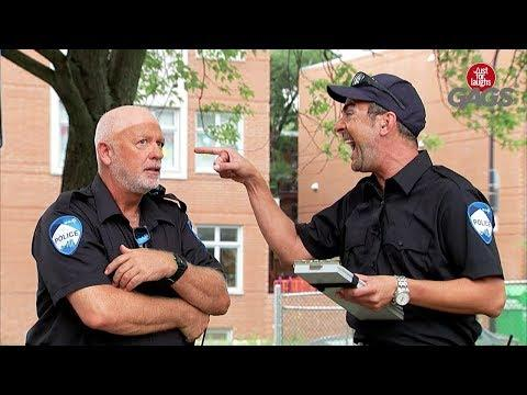 Badly Tanned Cops - Just For Laughs Gags