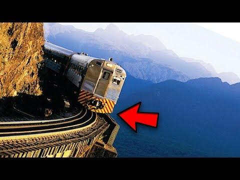 Top 5 MOST DANGEROUS TRAINS You Won't Believe Exist!