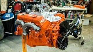 Chevy Small-block Engine Rebuild Time Lapse Commentary | Redline Rebuilds Explained