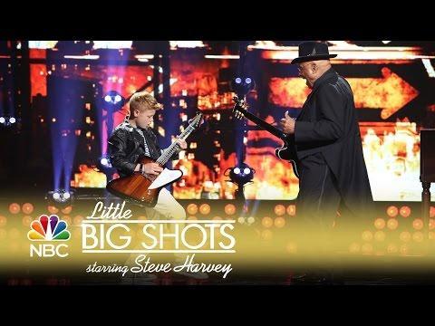 Little Big Shots - 12-Year-Old British Blues Guitarist (Episode Highlight)