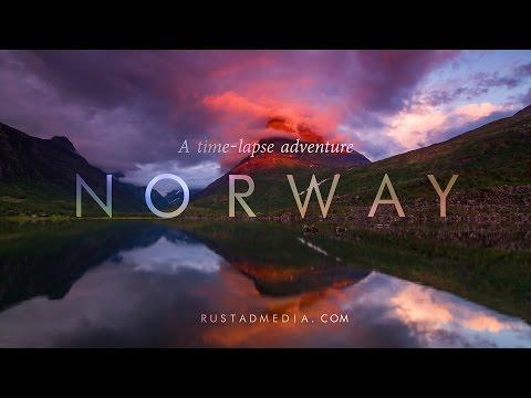 BEAUTIFUL NORWAY - A Time-Lapse Adventure In 4K