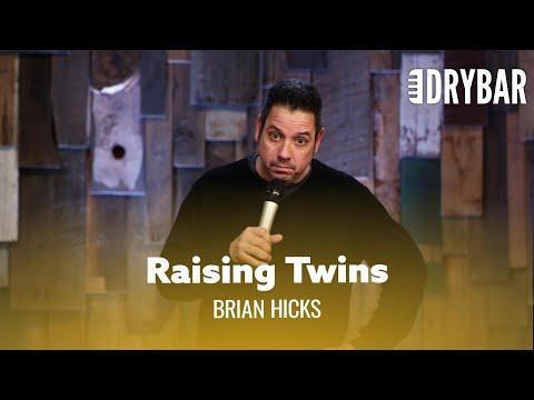 Raising Twins Is An Adventure. Comedian Brian Hicks #Video
