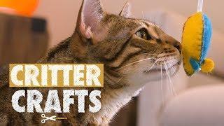 DIY Rocket Mice Cat Toys | Critter Crafts