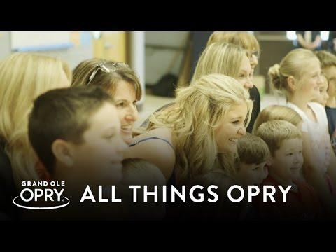 Lauren Alaina's Cause For Applause Surprise  | All Things Opry | Opry