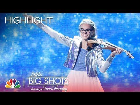 Sofia: Carol of the Bells - Violin Performance - Little Big Shots (Episode Highlight)