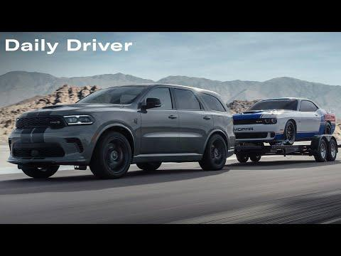 Dodge Durango SRT Hellcat Leaks, Ford's Godzilla Crate Motor, Electric AC Cobra - Daily Driver Video