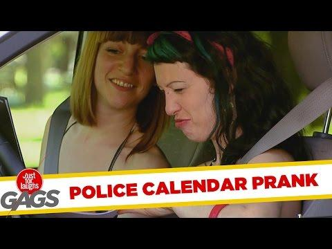 Cops Sexy Calendar For Charity Prank