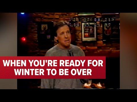 When You're Ready For Winter To Be Over Video | Comedian Jeff Allen