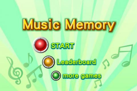 Free Game: Music Memory