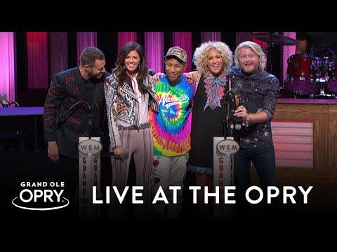 Pharrell Joins Little Big Town As A Surprise Guest | Live at the Grand Ole Opry | Opry
