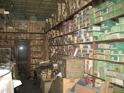 Store Lay Abandoned For 40 Years