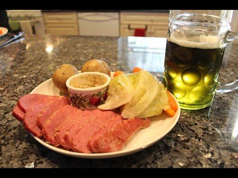 Corned Beef And Green Beer - OrsaraRecipes