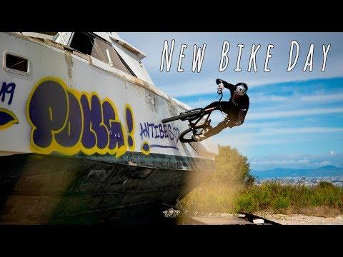 John Langlois Gets A New Bike And Then He Does This...