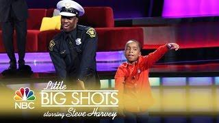 Little Big Shots - Dance Battle with a Cop (Episode Highlight)