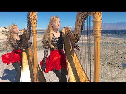 Closer to the Heart (RUSH) Harp Twins, Camille and Kennerly