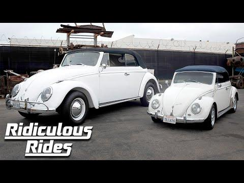 We Built A Giant VW Beetle | RIDICULOUS RIDES #Video