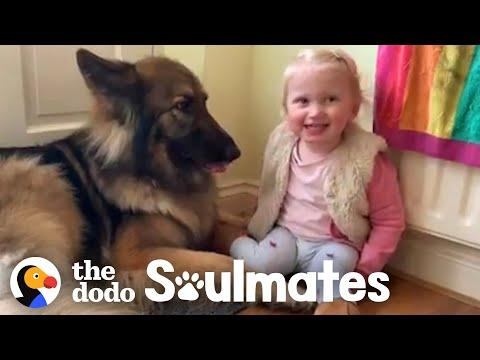 Watch This Girl Grow Up With Her Best Friend In Adorable Time Lapse | The Dodo Soulmates