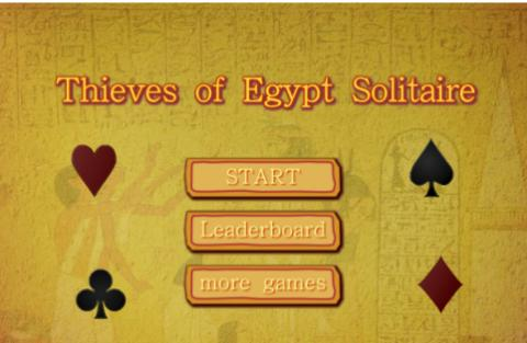 Free Game: Thieves of Egypt Solitaire
