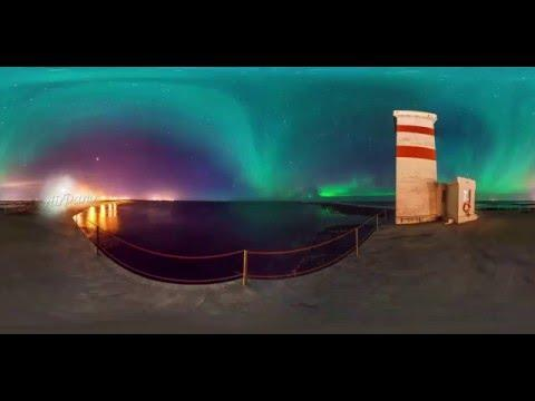 360° Video: Polar Lights In Iceland