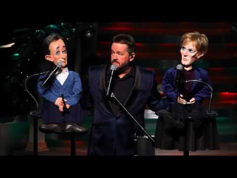 David Bowie Bing Crosby Duet Video - Little Drummer Boy. Terry Fator