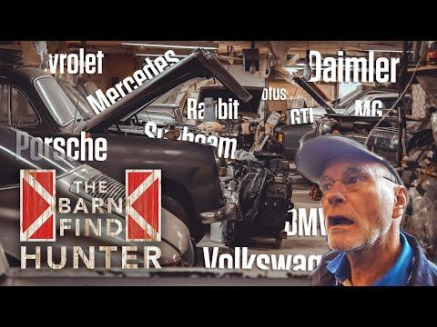 Best barn find ever? 45 sports cars hidden in Virginia | Barn Find Hunter - Ep. 70