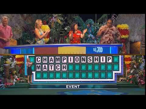 Man Solves Wheel Of Fortune Puzzle With One Letter