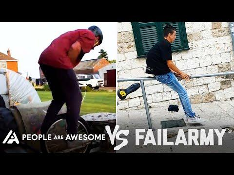 Wins Vs. Fails & More! | People Are Awesome Vs. FailArmy #Video