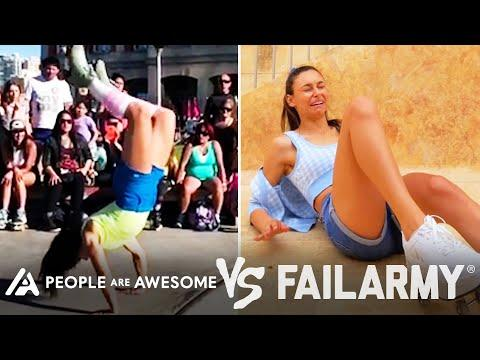 Breakdancing & More Wins VS. Fails   People Are Awesome Vs. FailArmy #Video