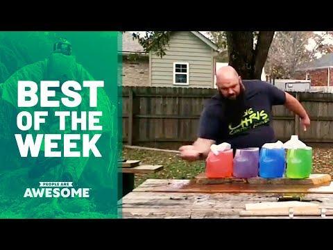 Blade Tricks, Indoor Rock Climbing & More | Best of the Week
