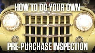 DIY | How to do your own pre-purchase car inspection