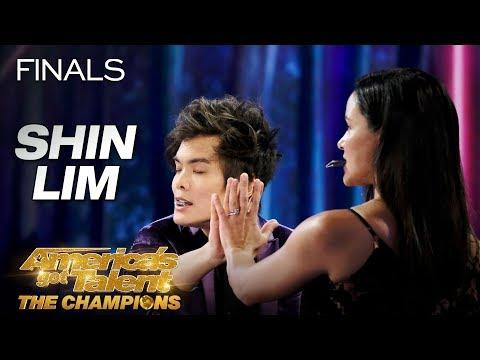 DON'T BLINK! Shin Lim Performs Epic Magic With Melissa Fumero - AGT: The Champions