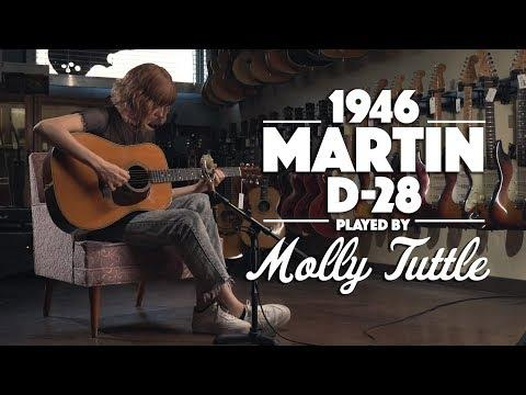 1946 Martin D-28 played by Molly Tuttle