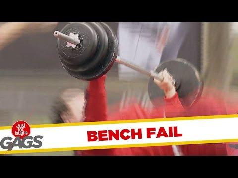 Broken Bench Press Prank