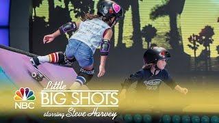 Little Big Shots - Little Skater Ladies (Episode Highlight)