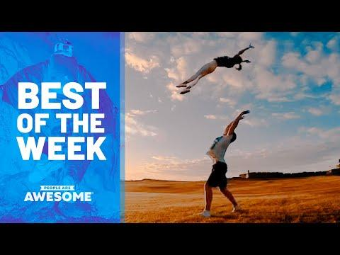 Weird Workout Tricks, Fire Eating, Bottle Crushing & More Video | Best of the Week