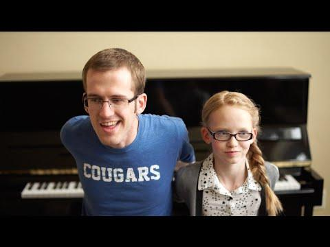 Talented Brother And Sister Perform Dueling Piano Medley