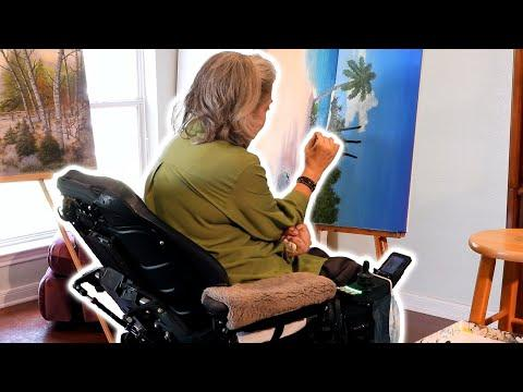 Paralyzed Painter - Texas Country Reporter Video