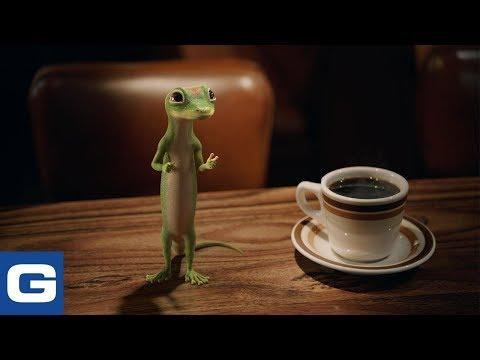 The Gecko Visits a Diner - GEICO Insurance