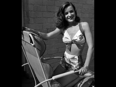 50 Glamorous Photos of Actress Ella Raines in the 1940s Video