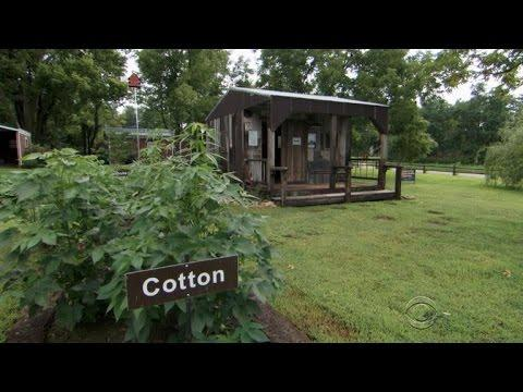 White Missouri woman's slave cabin sparks race talk