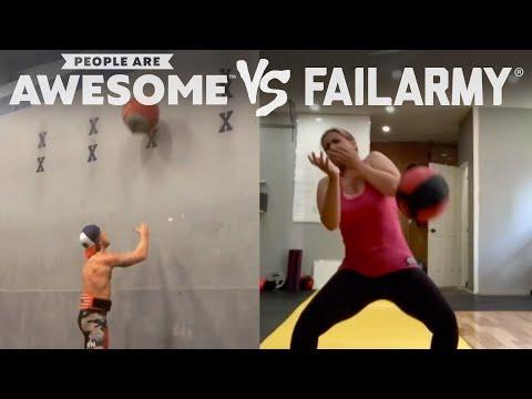 Wins Vs. Wipeouts | People Are Awesome Vs. FailArmy