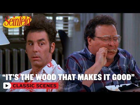 Kramer Gets Hooked On Kenny Roger's Chicken | The Chicken Roaster | Seinfeld #Video