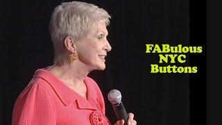 Jeanne Robertson | FABulous NYC Buttons
