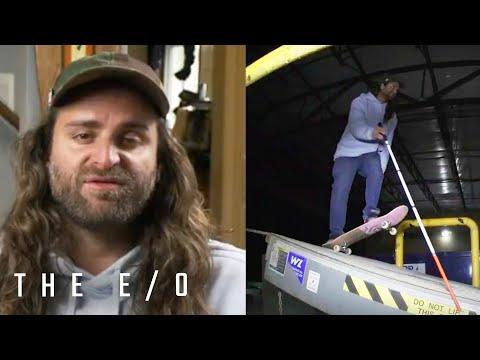 Blind Skateboarder Dan Mancina Shreds #Video