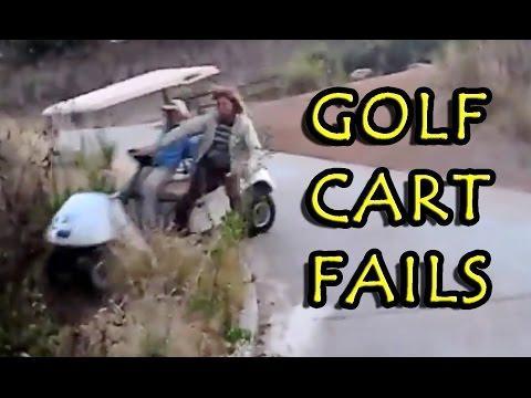 Golf Cart FAILS Compilation 2016 [NEW]