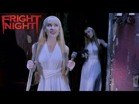 FRIGHT NIGHT Theme - Harp Twins (Camille and Kennerly) #Video