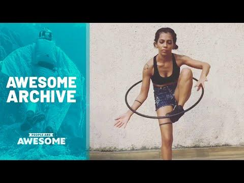 Extreme Hula Hoop Tricks Video & More